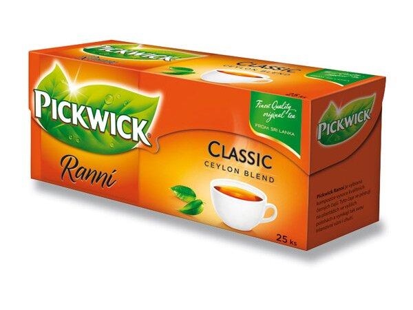 Černý čaj Pickwick Ranní 25 sáčků