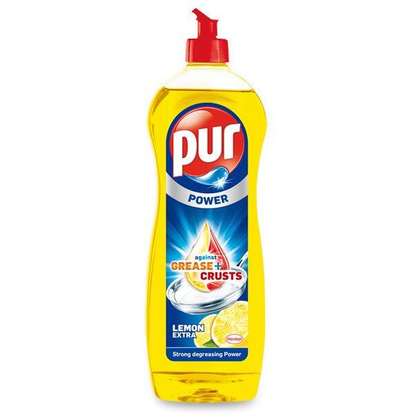 Prostředek na nádobí Pur Duo Power Lemon