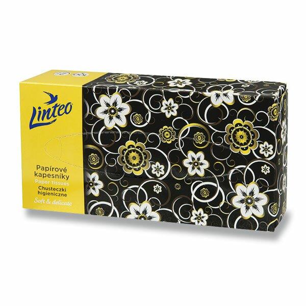 Papírové kapesníčky Linteo Satin 2-vrstvé, 100 ks