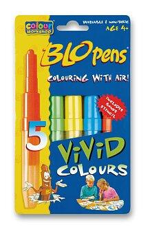 Obrázek produktu Foukací fixy Centropen Vivid Colours - 5 barev
