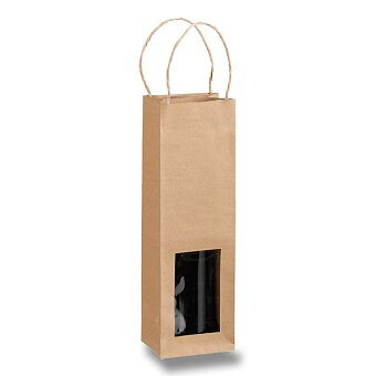 Obrázek produktu Natura - dárková papírová taška na víno