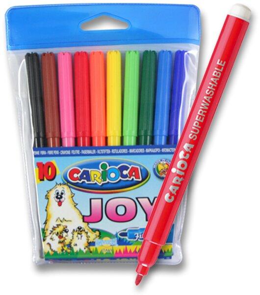Dětské fixy Carioca Joy 10 barev
