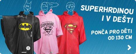 Superhrdinové pončo