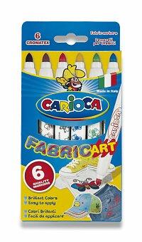 Obrázek produktu Fixy Carioca Fabricart - 6 barev