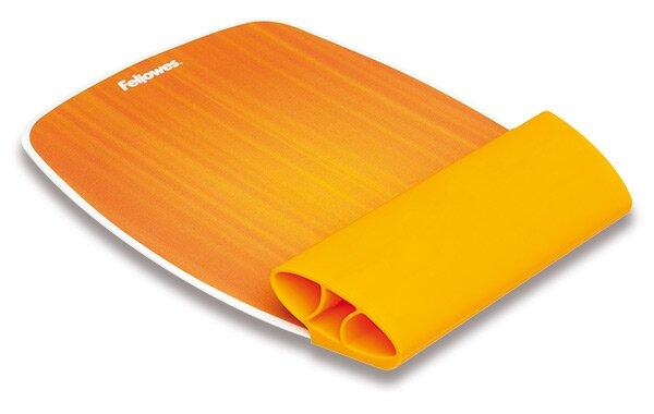 Podložka pod myš ze silikonu Fellowes oranžová