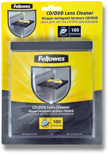Čisticí disk Fellowes CD/DVD Cleaner
