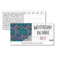 Antistresový kalendář 2017