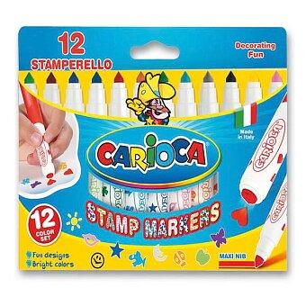 Obrázek produktu Fixy Carioca Stamp Markers - 12 barev