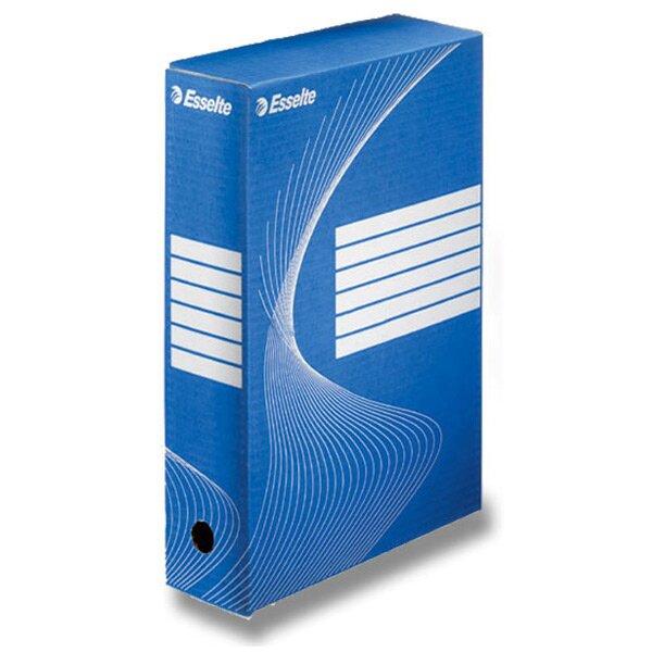 Archivační krabice Esselte modrá