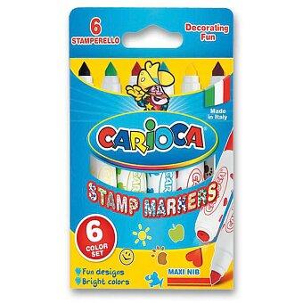 Obrázek produktu Fixy Carioca Stamp Markers - 6 barev