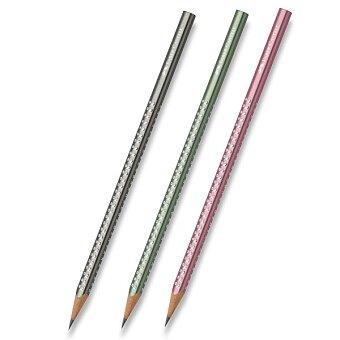 Obrázek produktu Grafitová tužka Faber-Castell - Sparkle Metallic - tvrdost HB (číslo 2), výběr barev