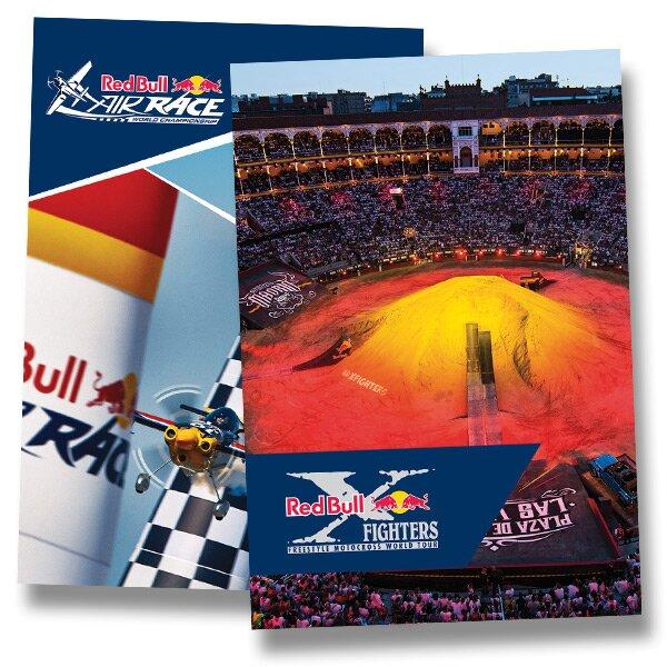 Školní sešit Red Bull A4, linkovaný, 40 listů, mix motivů