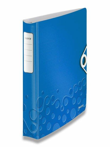 4kroužkový pořadač Wow modrý