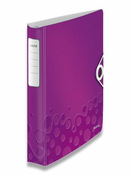 4kroužkový pořadač Wow fialový