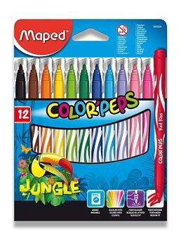 Obrázek produktu Dětské fixy Maped Color'Peps Jungle - 12 barev