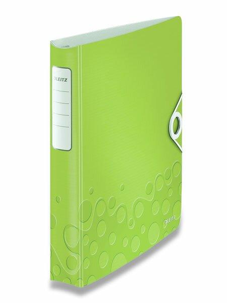 4kroužkový pořadač Wow zelený