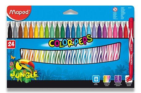 Obrázek produktu Dětské fixy Maped Color'Peps Jungle - 24 barev