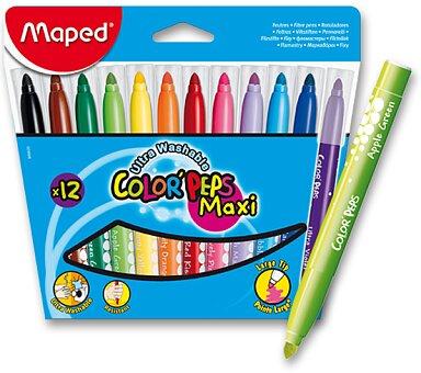Obrázek produktu Dětské fixy Maped Color'Peps Maxi - 12 barev