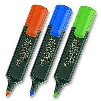Obrázek produktu Zvýrazňovač Faber-Castell Textliner 1548 - výběr barev