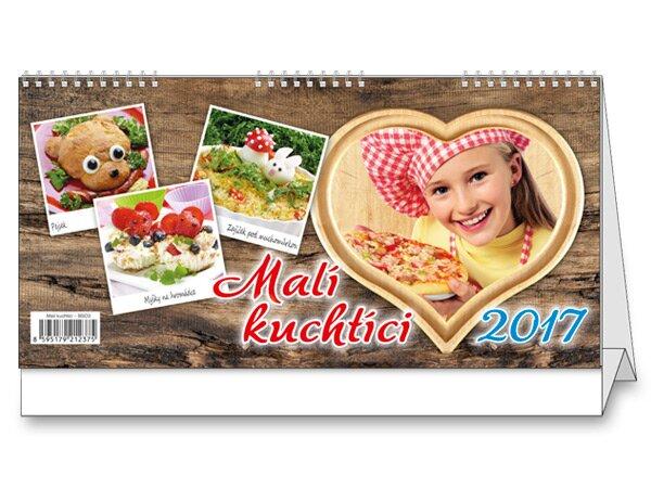 Malí kuchtíci 2017 stolní kalendář