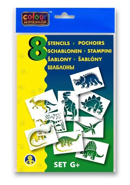 Šablony Centropen G+ Prehistorická zvířata