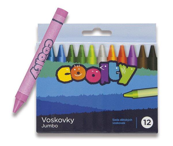 Voskovky Coolty Jumbo 12 barev
