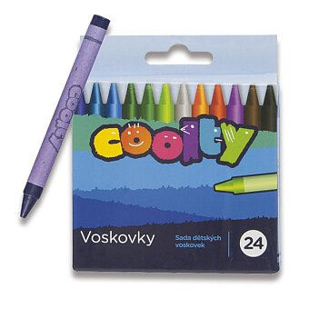 Obrázek produktu Voskovky Coolty - 24 barev