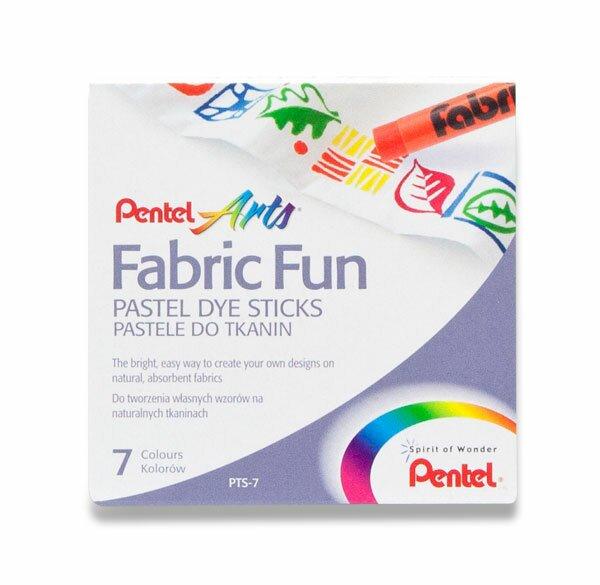 Voskovky na textil Pentel Arts 7 barev