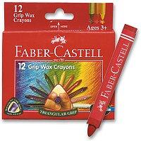 Voskovky Faber-Castell Wax Triangular Crayons