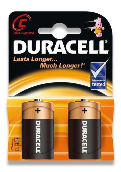 Baterie Duracell Basic malý monočlánek, 2 kusy