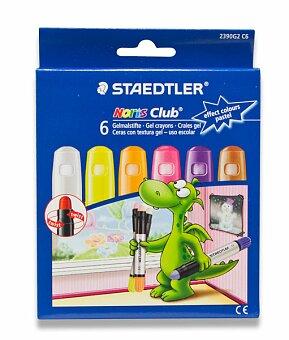 Obrázek produktu Gelové voskovky Staedtler na sklo - pastelové, 6 barev
