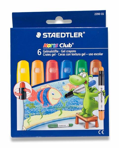 Gelové voskovky Staedtler 6 barev