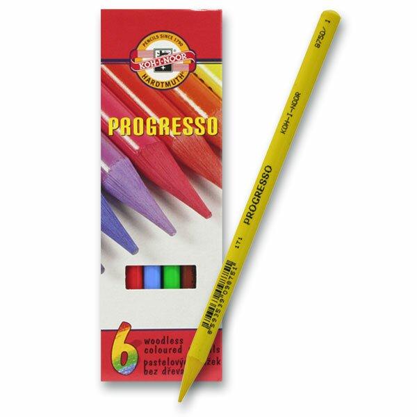 Pastelky Koh-i-noor Progresso 8755 6 barev