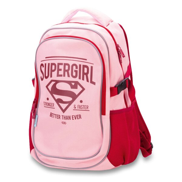 Školní batoh Supergirl s pončem do deště jako dárkem