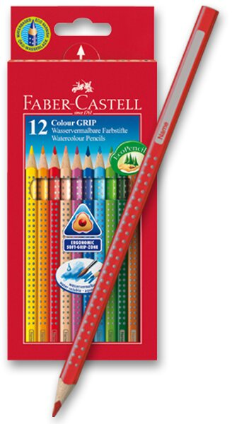 Pastelky Faber-Castell Colour Grip 2011 12 barev