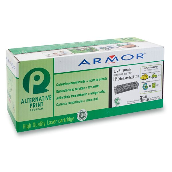 Toner Armor CB540A pro laserové barevné tiskárny black (černá)