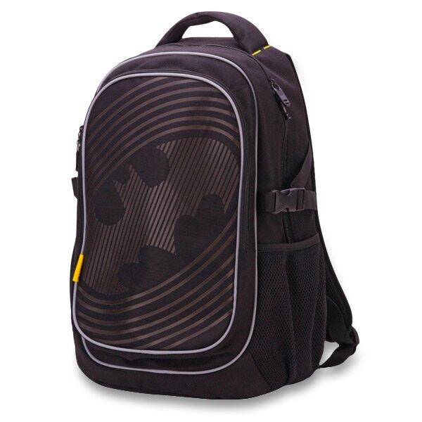 Školní batoh Batman Sonic s pončem do deště jako dárkem