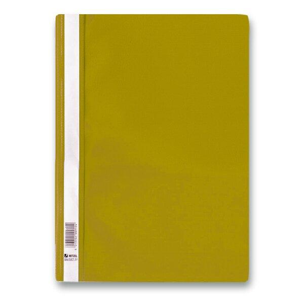 Rychlovazač PP - A4 žlutý
