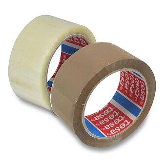 Obrázek produktu Samolepicí páska Tesa Standard - 48 mm × 66 m, transparentní nebo hnědá