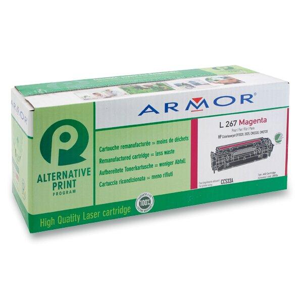 Toner Armor CC533A pro laserové barevné tiskárny magenta (červená)