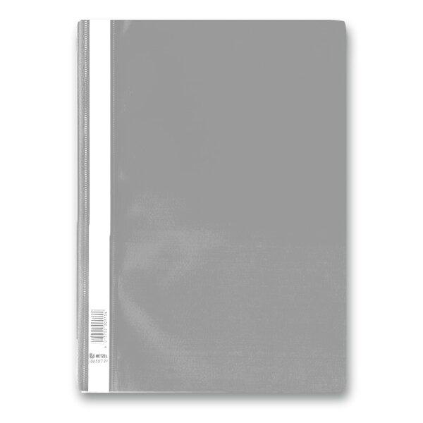 Rychlovazač PP - A4 světle šedý