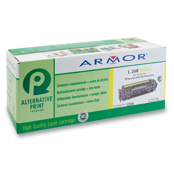 Toner Armor CC532A pro laserové barevné tiskárny yellow (žluá)