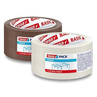 Obrázek produktu Balicí páska Tesa Basic - transparentní