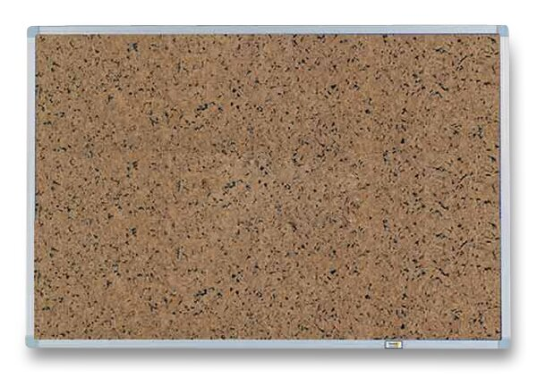 Samolepicí tabule 3M Post-It v hliníkovém rámu 60 x 90 cm, hnědá