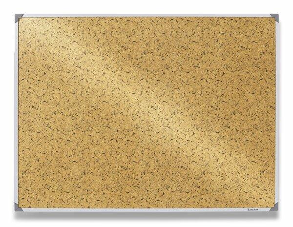 Samolepicí tabule 3M Post-It v hliníkovém rámu 90 x 120 cm, hnědá