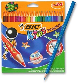 Obrázek produktu Pastelky Bic Kids Evolution - 24 barev