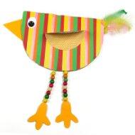Pestrobarevný ptáček