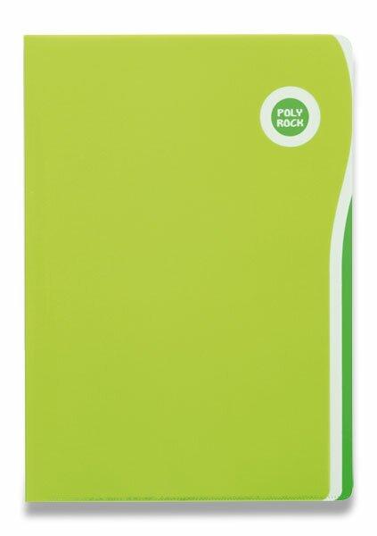 Zakládací desky Poly Rock A4 zelené