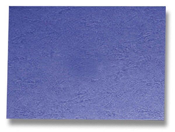 Barevná zadní strana pro kroužkový vazač A4 Ibiston modrá