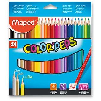 Obrázek produktu Pastelky Maped Color'Peps - 24 barev